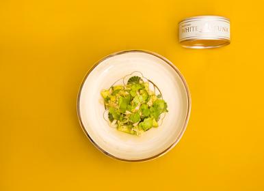 ホワイトツナ水煮と野菜のマリネ エスニック風